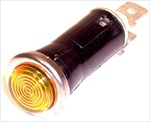 "Amber Indicator Light, 1/2"" Hole"