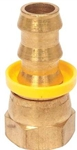 "Swivel Barb Hose Fitting (Hose End), -8 or 1/2"" Hose, Each, B-8LOC-8FSX"