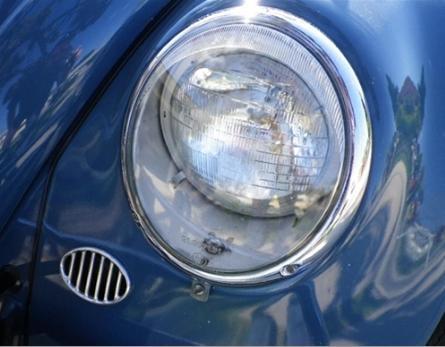 fiberglass front fender vw standard beetle early headlight style pre  stock width left