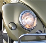 Fiberglass Front Fender, Standard Beetle, Early Headlights With Bullet Turn Signals, Stock Width, Right, BFSEB-12
