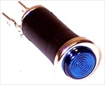 "Blue Indicator Light, 1/2"" Hole"