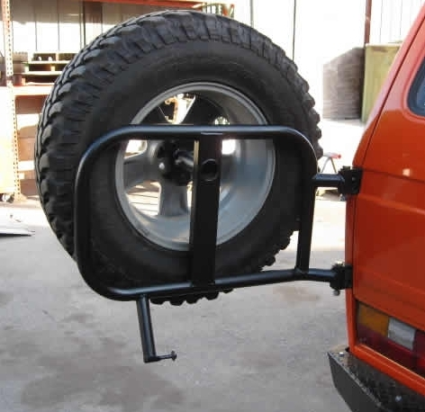 Burley Motorsports Swing Out Spare Tire Carrier Rear Left