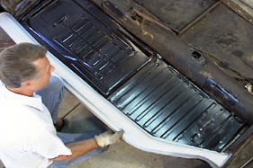 Bug Me Video How To Dvd Volume 6 Vw Floor Pans By Rick