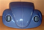 Deluxe Fiberglass Front End (1 Piece Front End), 1966 and Earlier Beetle, Early Headlight Style w/Buckets, Stock Width, BOPFE-C