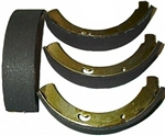 Front Brake Shoes, 1955-63 Type 2, SUPER STOPPER, 211-609-237B
