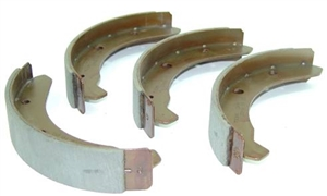 Front Brake Shoes, SUPER STOPPER, 1965-78 Standard Beetle, and THING, 131-609-237C