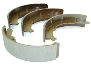 Front Brake Shoes, 1964-70 Type 2, SUPER STOPPER, 211-609-237D