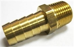 "Hose Barb, 1/2"" Hose x 3/8"" NPT Male, EACH"