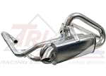 "Tri-Mil Bobtail Header, Without Heater Boxes, Quiet Pack Muffler, 1 1/2"" Tubing, 3002"