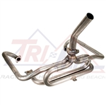 "Tri-Mil Bobtail Header, WIthout Heaterboxes, With Stinger, 1 1/2"" Tubing, 3003"