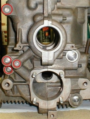 Engine    Case Machining  Full Flow and Oil Galley Drill and