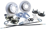 Race Strength Rear Disc Brake Kit, 4 Lug, IRS, With Emergency Brake