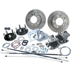 Race Strength Rear Disc Brake Kit, 5x130mm (Porsche Bolt Pattern), IRS, With Emergency Brake, 4359