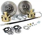 Wide-5 Rear Disc Brake Kit With Emergency Brake, 5 Lug, Short Swing Axle, 4640