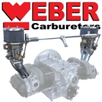 CB Performance Dual IDF Weber Carburetor Kits, Porsche 356 and 912 Engines