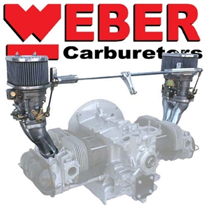 CB Performance Dual IDF Weber Carburetor Kits, Type 1, Type 3, and Type 4 Engines