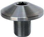 Broached Crank Pulley Bolt, Stainless Steel, CB2050
