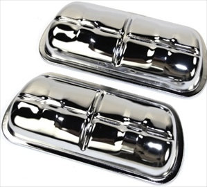 Chrome Valve Covers, Type 1 Based Engines, Pair