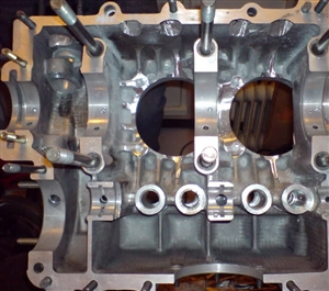 Engine Case Machining, STROKE RELIEVING, Up To 84mm Strokes