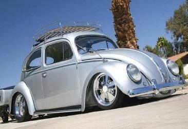 Roof Rack For Beetle And Super Beetle Triple Chrome