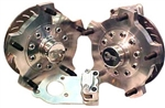 JAMAR Front Disc Brake Kit, 14mm 5 Lug, Single Piston Caliper, Link Pin VW, Light Duty, DB400VWLP