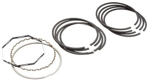 DEVES Piston Rings, 77mm Bore, 2mm Top, 2mm Middle, 4mm Oil, Set of 4