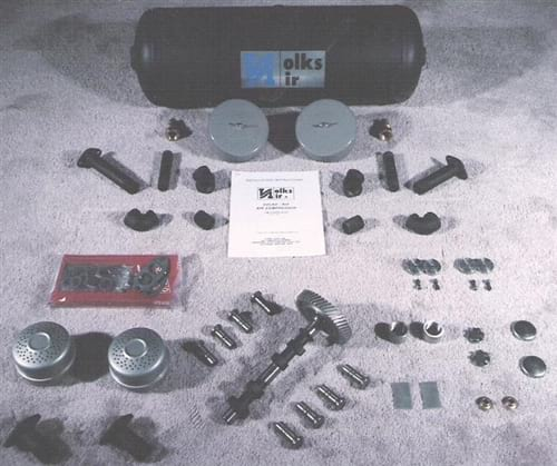 Volks Aire Air Compressor Kit Fits Upright Vw Engines