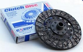 Daiken 200mm Solid Center Super Duty Clutch Disc, Metal Woven