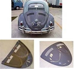 "Convertible ""W"" Decklid With Vents, Fiberglass, 1963 and Older Beetle, ELW-1CV"