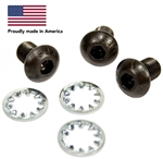 Engle Type 1 Cam Gear Bolt Kit (Button Head Cam Bolts), 3 Bolts and Washers, ENGLE-6004
