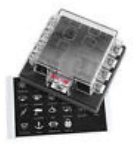 Aftermarket Auto Fuse Box : Aftermarket fuse box block atc ato fuses quot