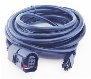 innovate wiring harness extension, 18', fits lc-2, lm-2 and mtx-l, after  2/15/15, for use with 4 9 o2 sensor, 3889 - volkwagen aircooled net vw parts