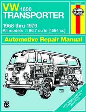 vw transporter 1600 workshop manual 1968 79 1600cc  by Volkswagen Transporter Camper Old Volkswagen Transporter