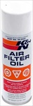 K&N Aerosol Air Cleaner Oil, 6oz Spray