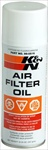 K&N Aerosol Air Cleaner Oil, 12oz Spray