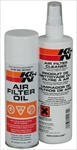 K&N Air Filter Care Kit, Aerosol
