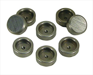 Hardened Lash Caps for 8mm and 9mm Valves, Set of 8