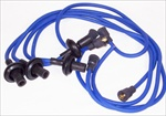 Megavolt Plug Wire Sets, 2x Silicone Jacket, Copper