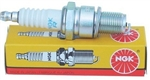 "NGK B8ES Spark Plug, 14 x 3/4"" Reach Threads, Conventional Tip, 13/16"" Socket"