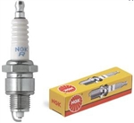 "NGK B6HS Spark Plug, 14 x 1/2"" Reach Threads, Conventional Tip, 11/16"" Socket"