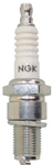 "NGK D6EA Spark Plug, 12 x 3/4"" Reach Threads, Conventional Tip, 11/16"" Socket"