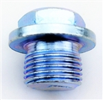 O2 Sensor Plug, Mild Steel (18 x 1.5mm Threads)