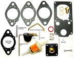 Kadron Complete Overhaul Kit, Includes Rebuild Kit AND Replacement Parts Kit, Solex and Kadron 40/44 Carburetors, RADKE-702OH