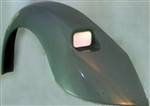"Fiberglass Rear Fender, Rectangular Tail Lights, 3"" Wider, Left, RXR-13"