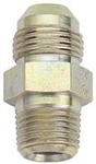"-8 (AN8) Adapter Fitting,  Steel, 3/8"" NPT, Straight, S-8MJ-6MP"