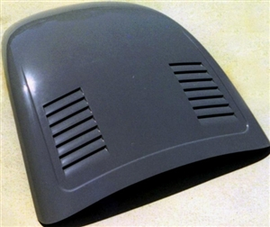 fiberglass front hood   vw super beetle smooth  side louvers sbhc  aircoolednet
