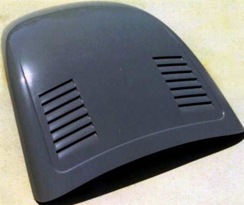 Fiberglass Front Hood, 1973 and Later VW Super Beetle, SMOOTH with Side Louvers, SBHC-2 ...