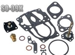 Solex 34 PDSIT-2 and 34 PDSIT-3 Carburetor Rebuild Kit, 1972-74 Type 2 (1700 and 1800cc) EACH (Per Carburetor), SO-39K