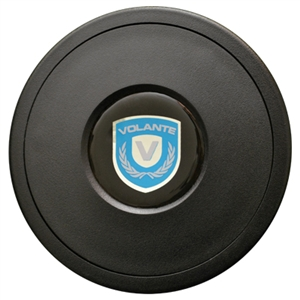 Volante Steering Wheel Horn Button, Fits 9 Bolt Volante S9 Premium Steering Wheels, STBUTTON1