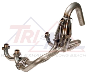 Tri-Mil Off-Road Racing Exhaust System, Type 4 Engines with Oval Exhaust  Ports, 1 5/8